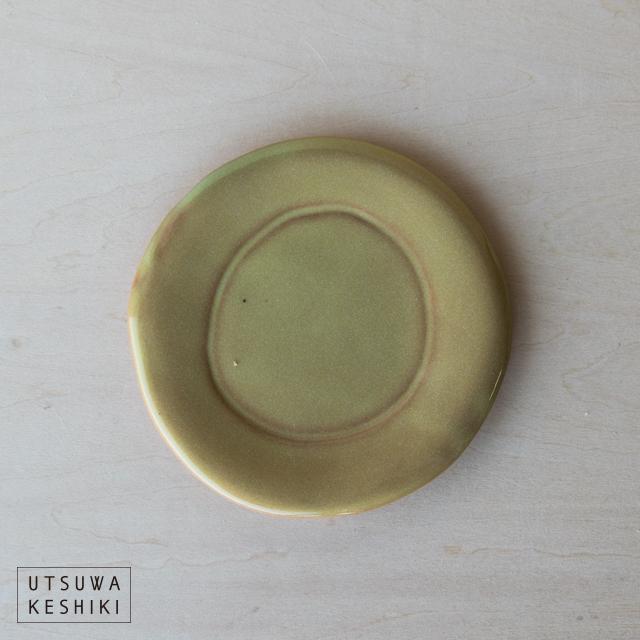[トキノハ] tetraシリーズ プレートS(黄)