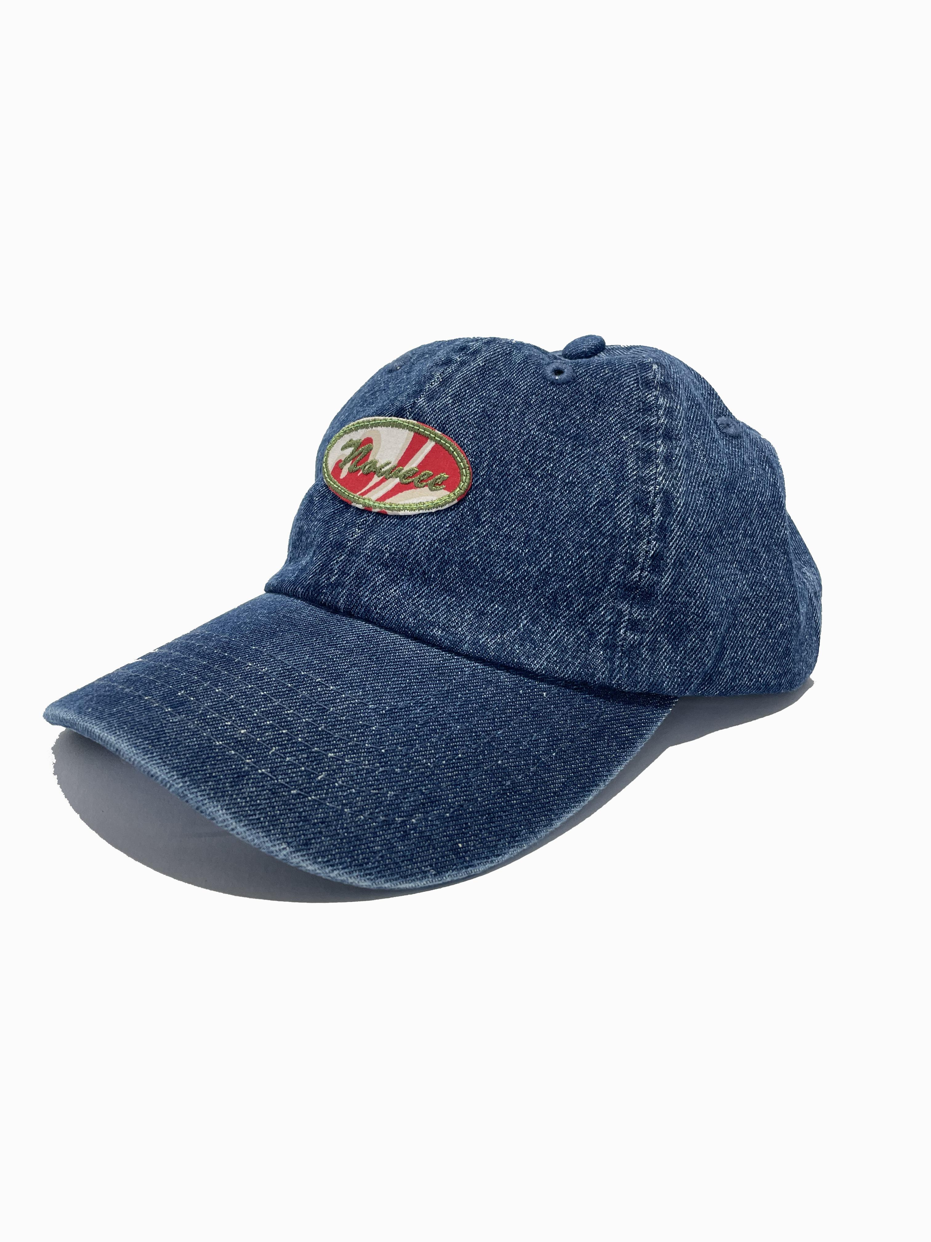 ローキャップ 【ダークブルーデニム】 帽子 キャップ