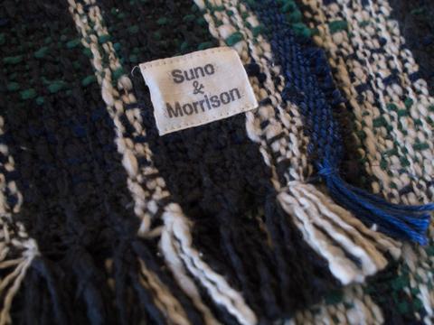 Suno and Morrison スノアンドモリソン BLANKET STOLE