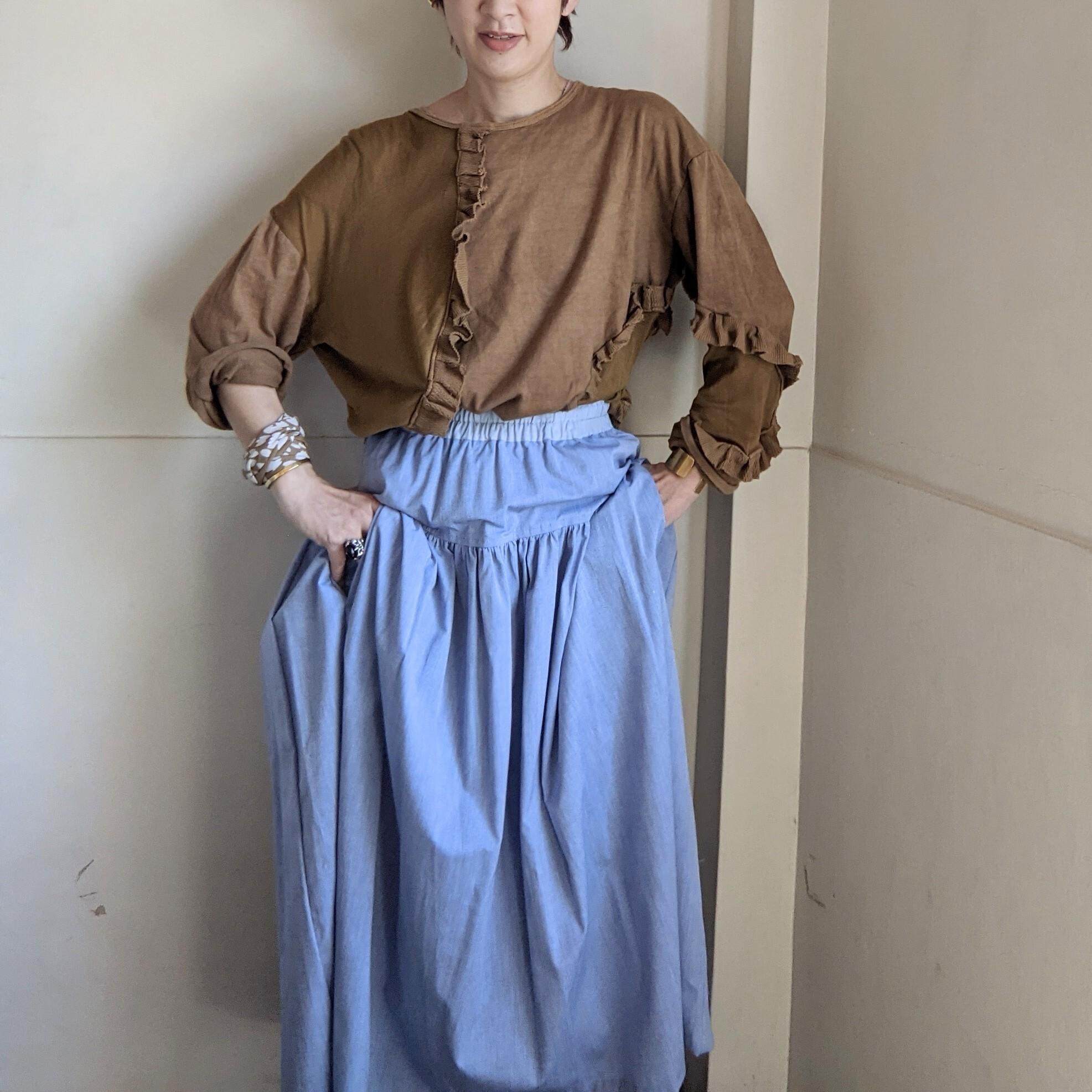 【 PuRah 】プラ / ギャザースカート