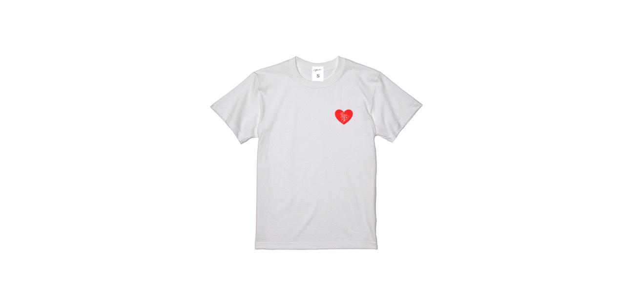 coguchi playing cards T-shirts (WH)