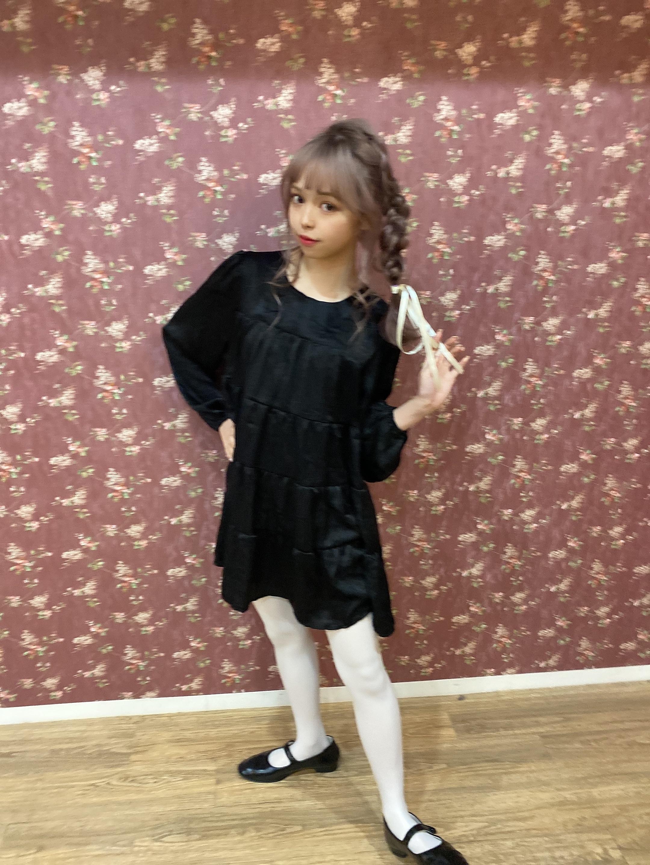 【ViVi11月号掲載】tired volume dress