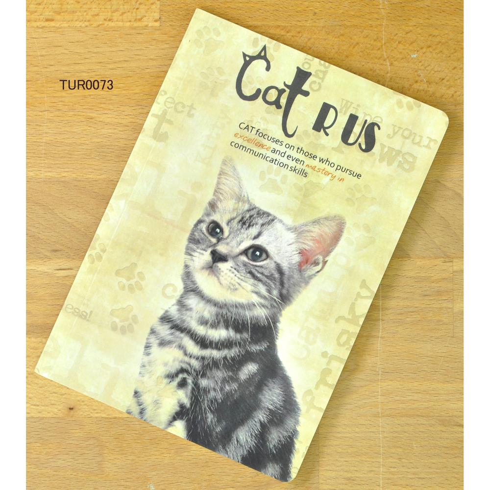 猫ノート(ほぼA5サイズ)スマート