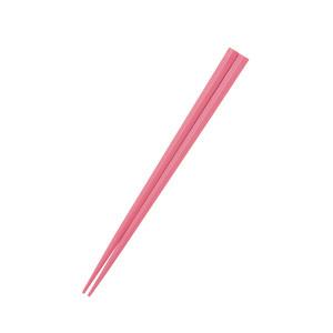 五角形21cmPBT箸  ピンク【OGH-7-PI】