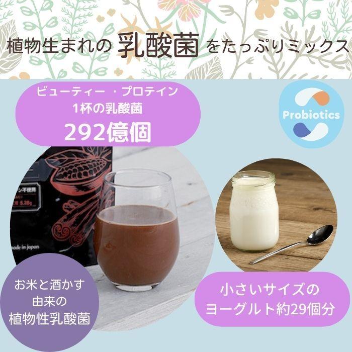 ソライナ・ビューティー・プロテイン:ココアシナモン【えんどう豆プロテイン】
