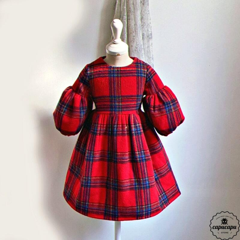 «sold out»  One Day for The Celebration tartan check タータンチェックワンピース