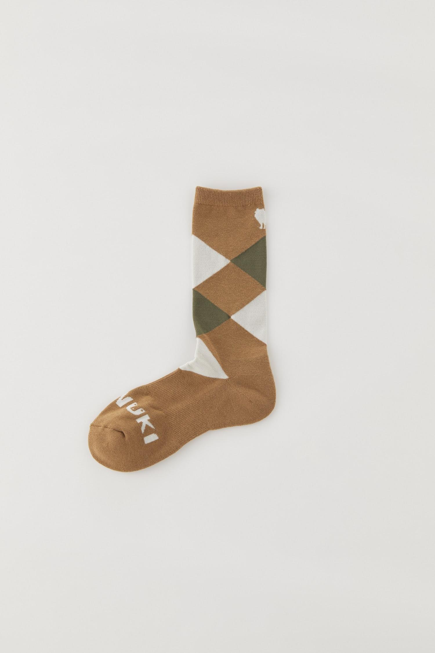 Sato Tetra Socks: Color Camel