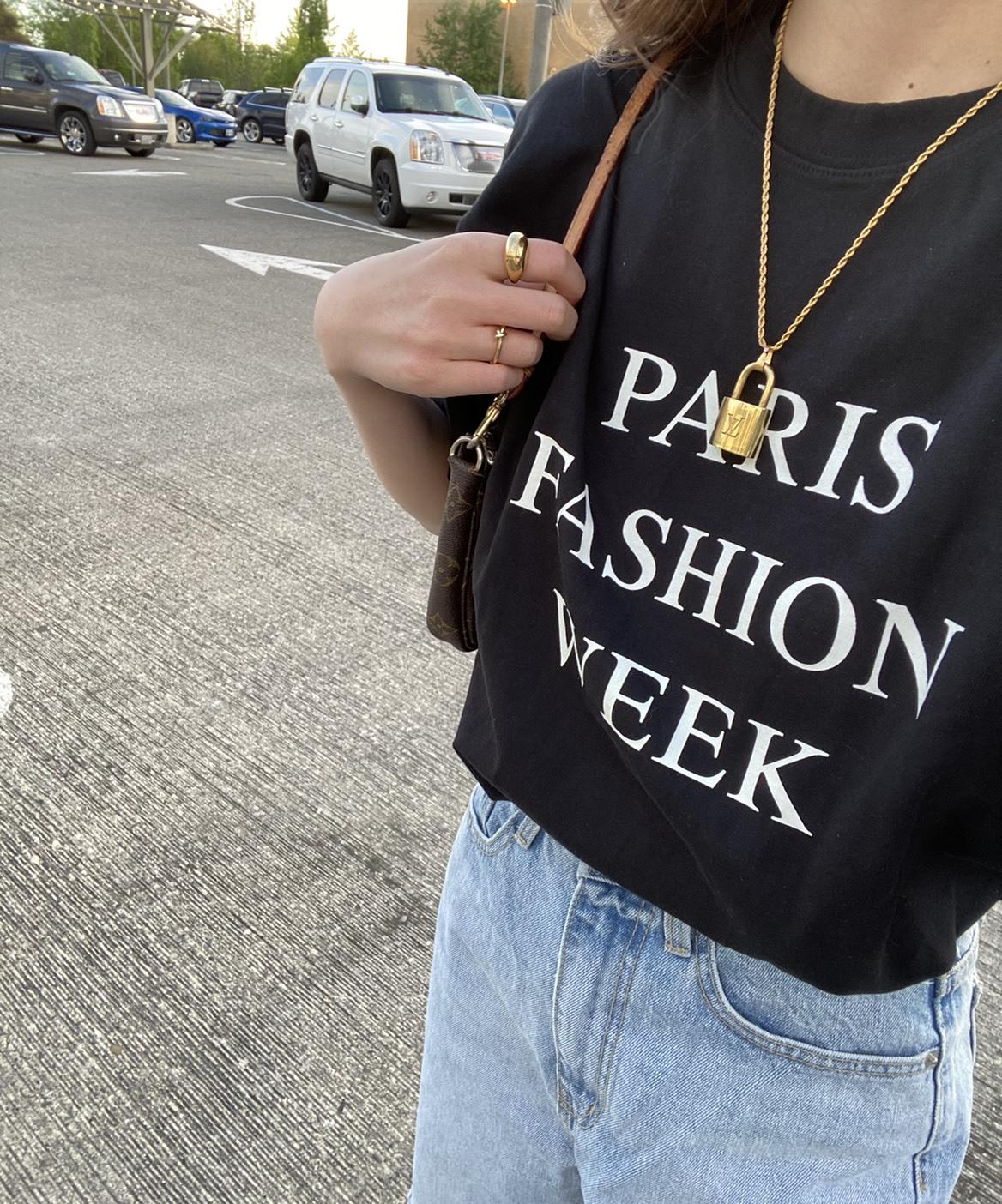 【NEW】DAYNYC paris T(black)