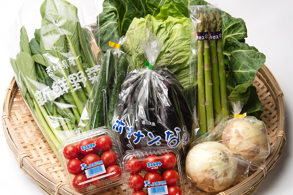【送料無料】旬の香川野菜 7品詰め合わせセット