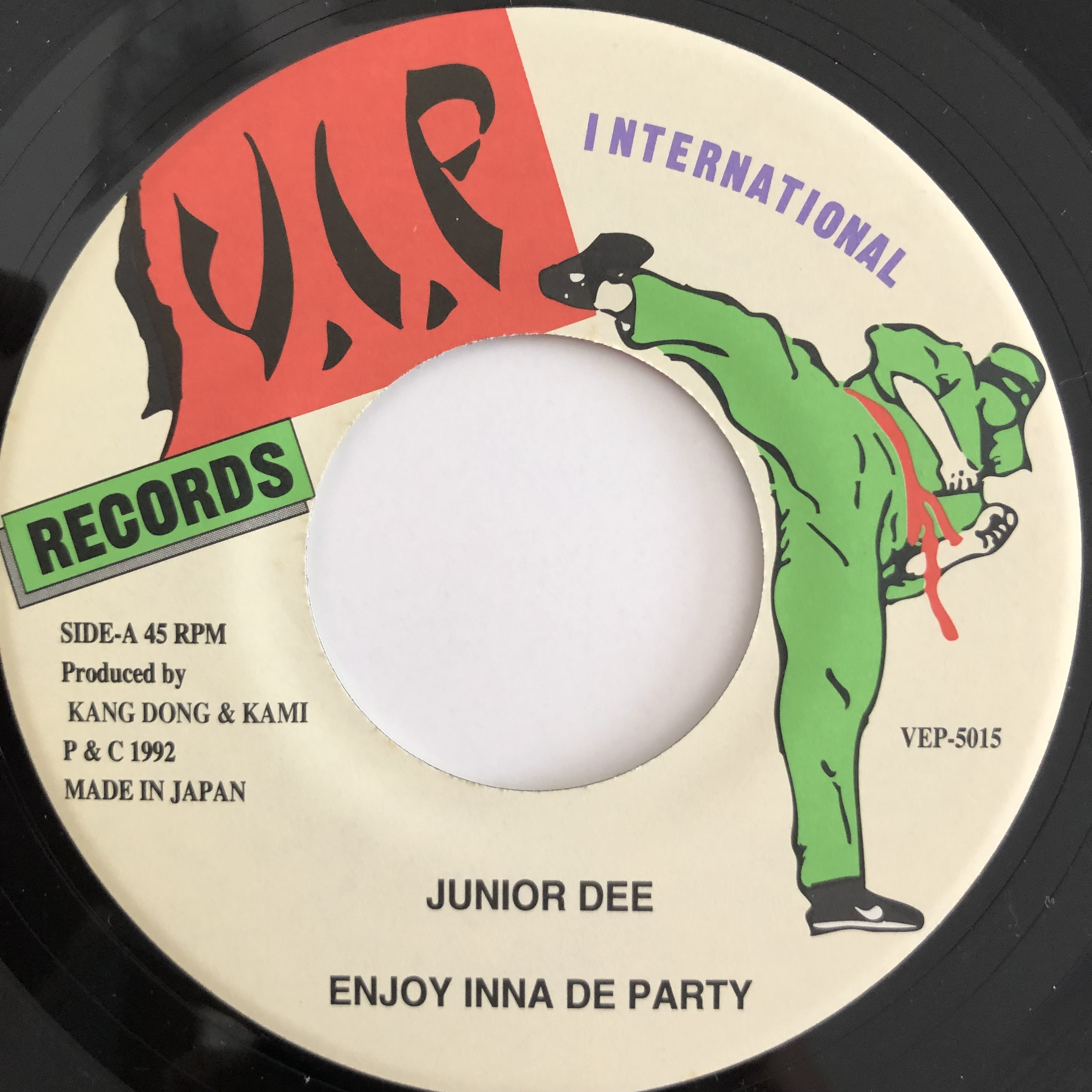 Junior Dee(ジュニアディー) - Enjoy Inna De Party【7-20069】
