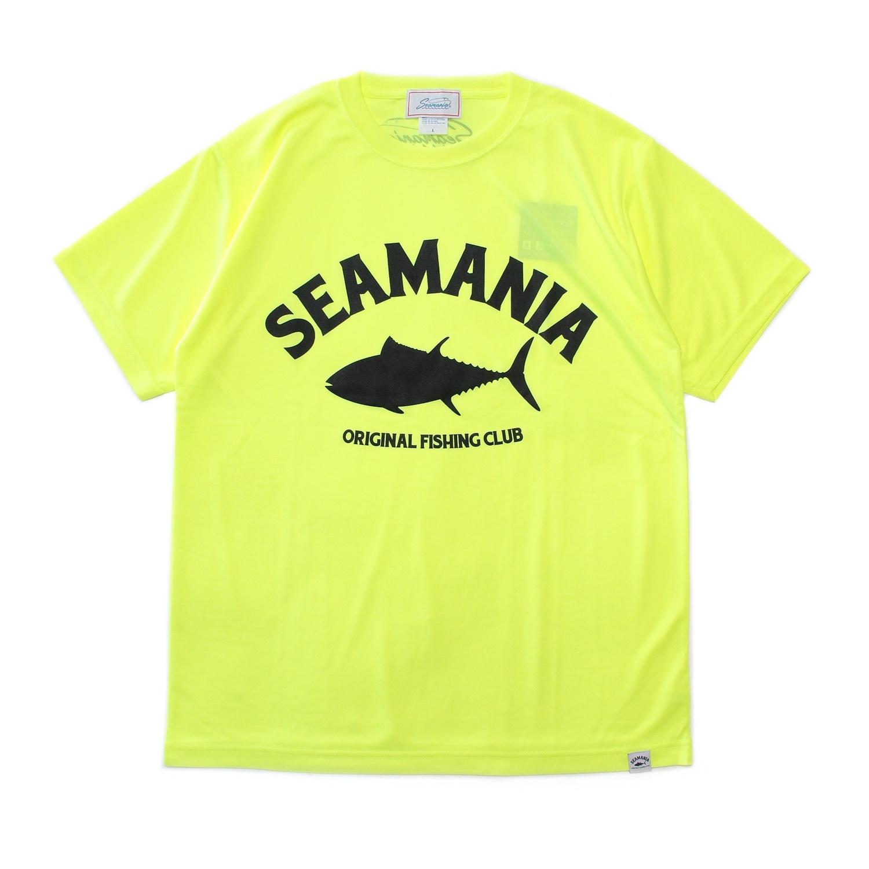 【Seamania】アーチロゴデザインdryTシャツ [N.YEL]