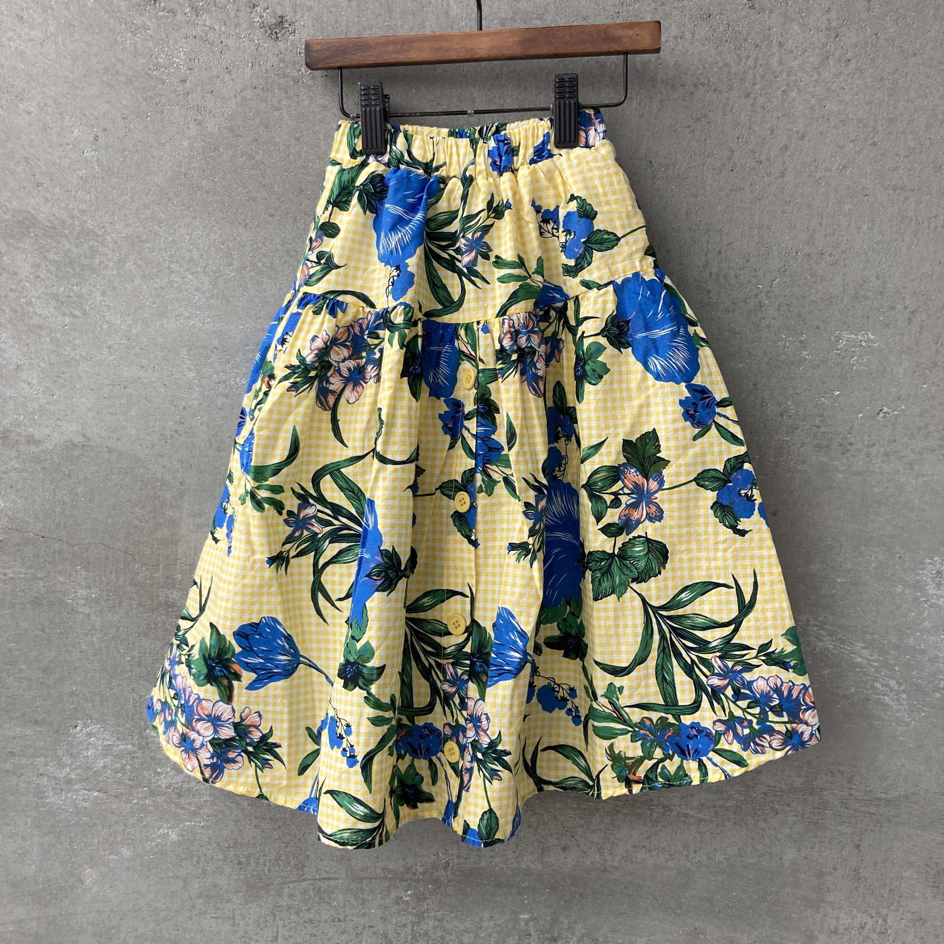フラワーロングスカート140~150