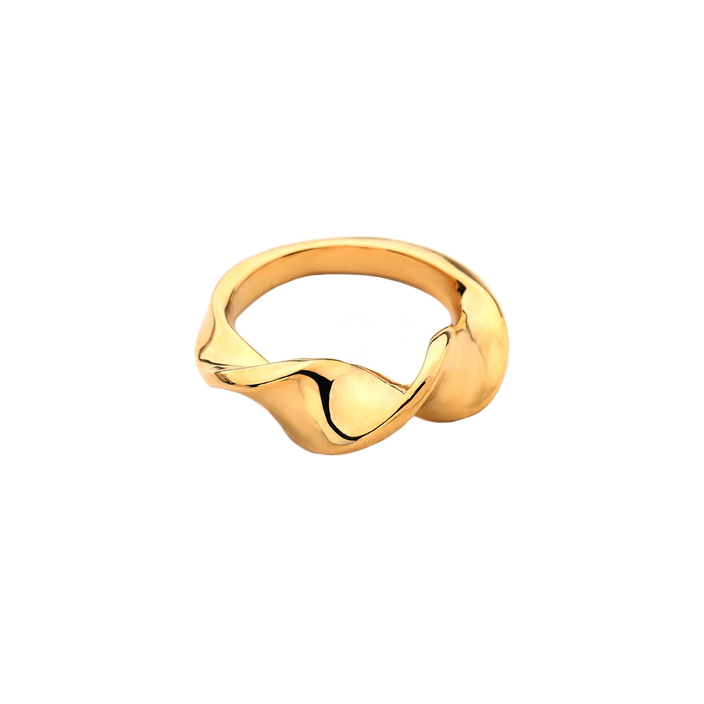 twist curve ring