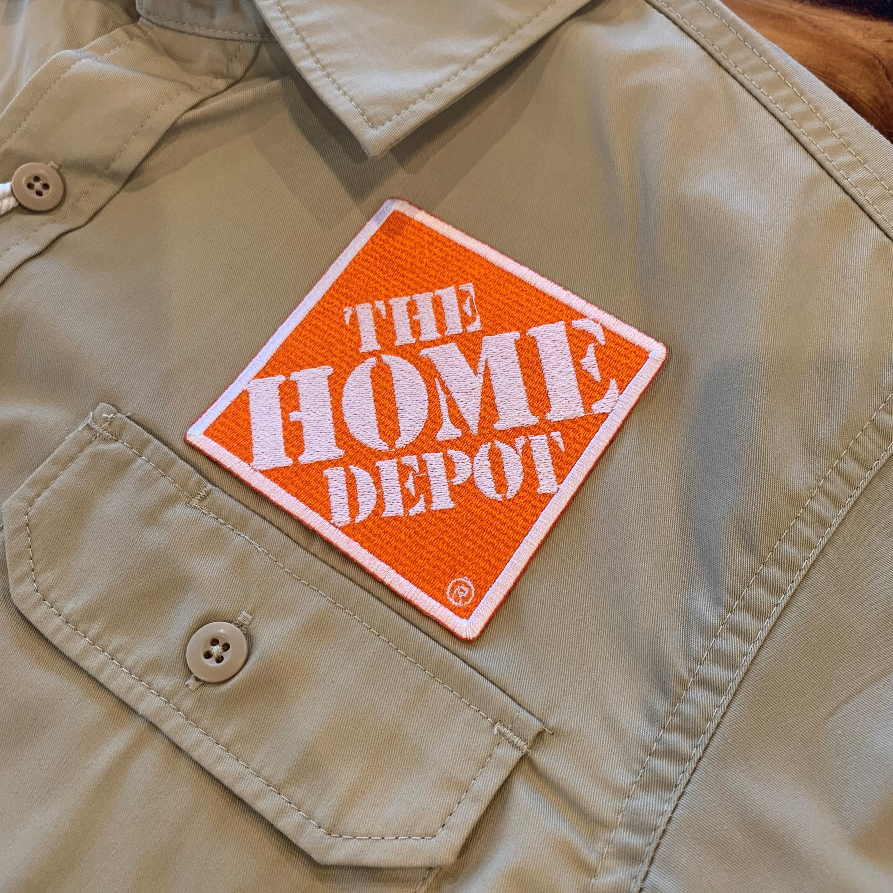 PATCHIES【ワッペン】 THE HOME DEPOT ホームデポ ワークシャツ