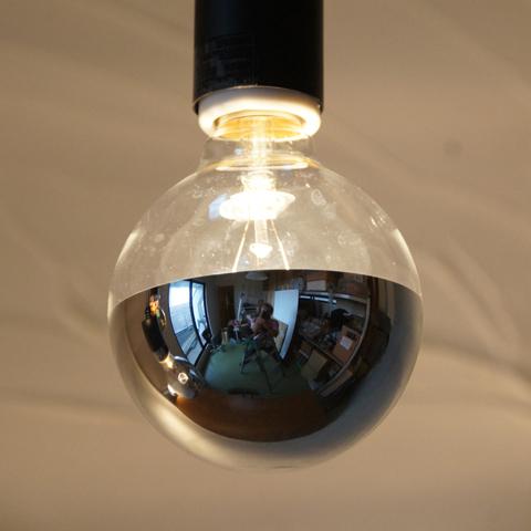 E26 20W シルバーミラーボール  ※電球のみ