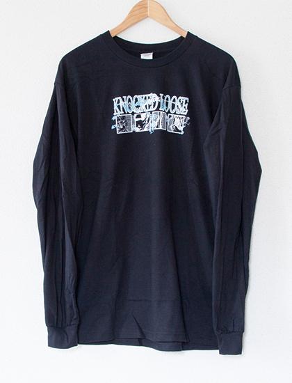 【KNOCKED LOOSE】Squares Long Sleeve (Black)