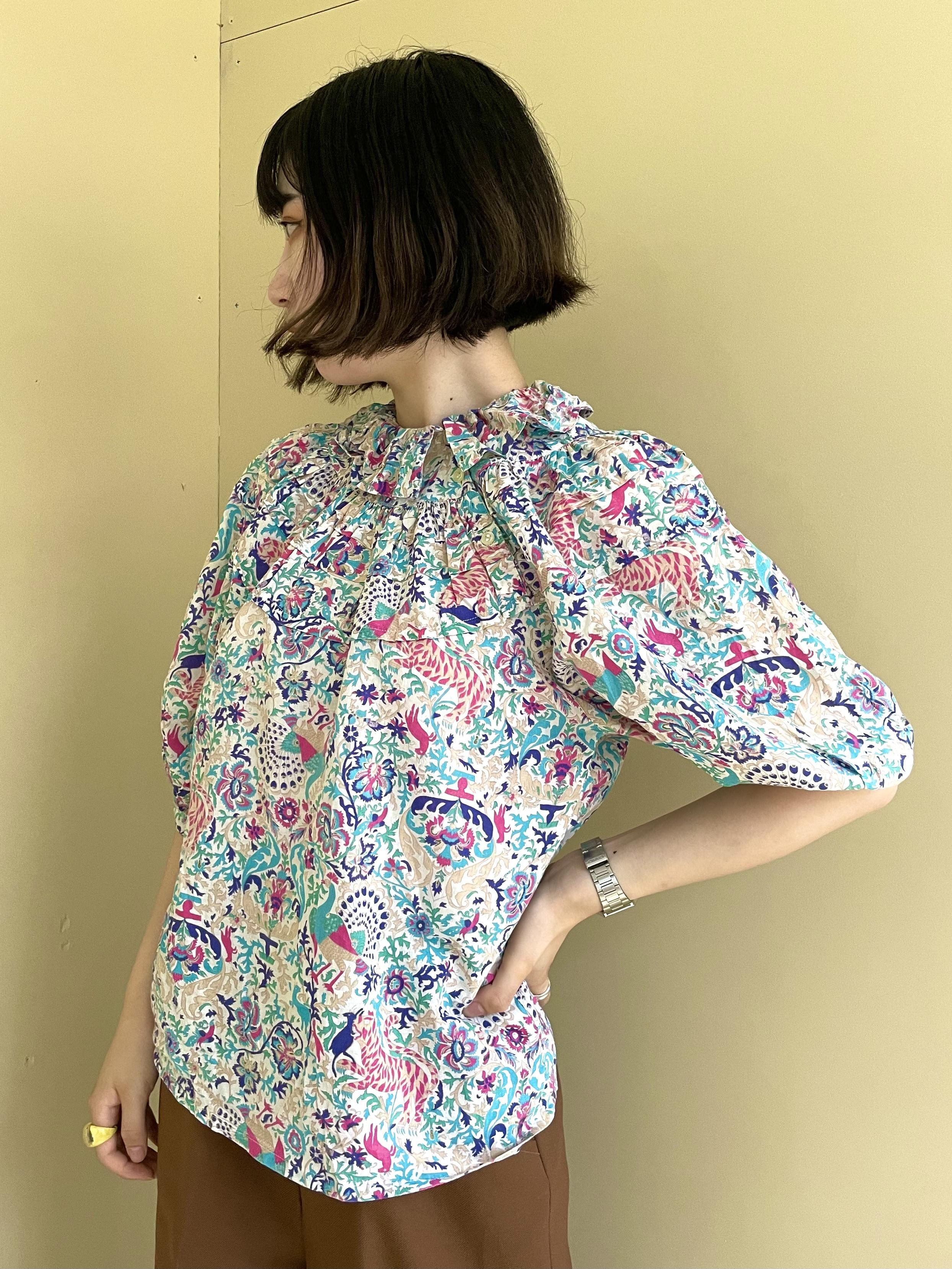 frill colour blouse / 7SSTP20-12