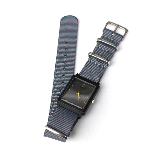Free shipping NOW!! / CASIO BASIC WATCH 04 / NATO-type Strap
