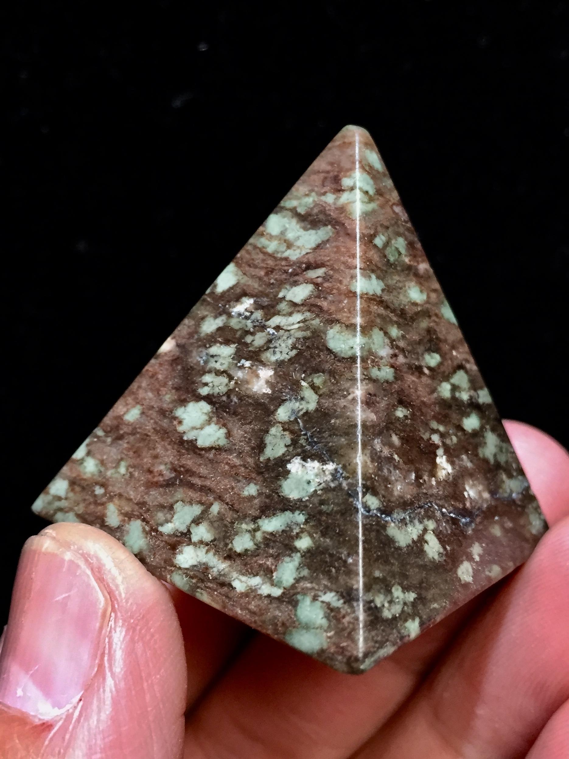 1) ナンドライト・ピラミッド