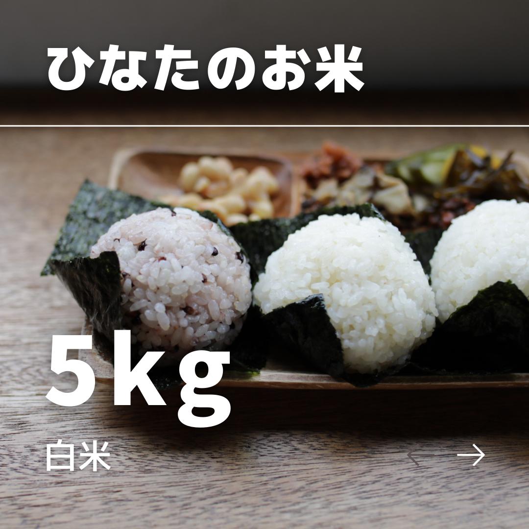 ひなたのお米 白米 5kg