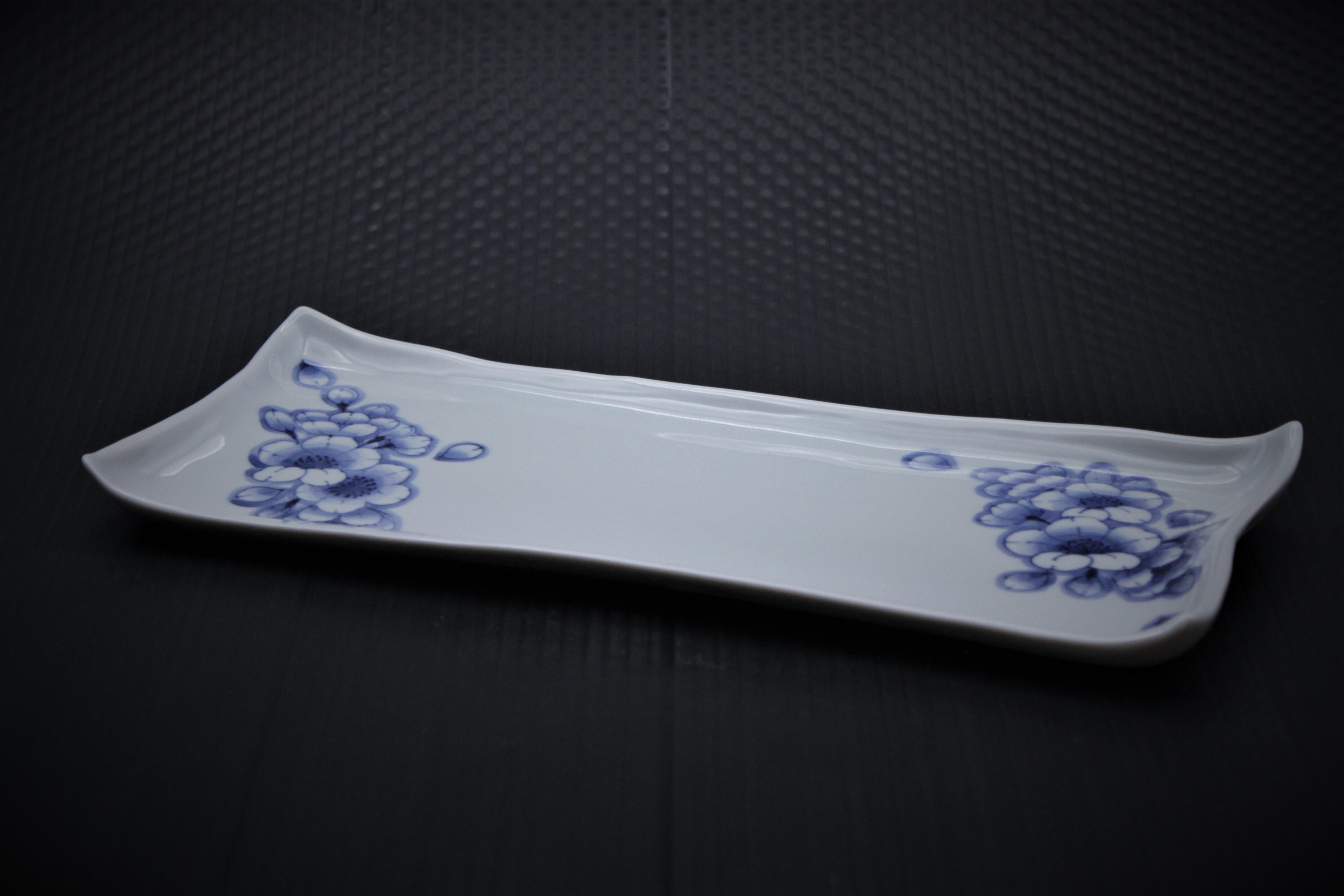 王冠桜長角皿