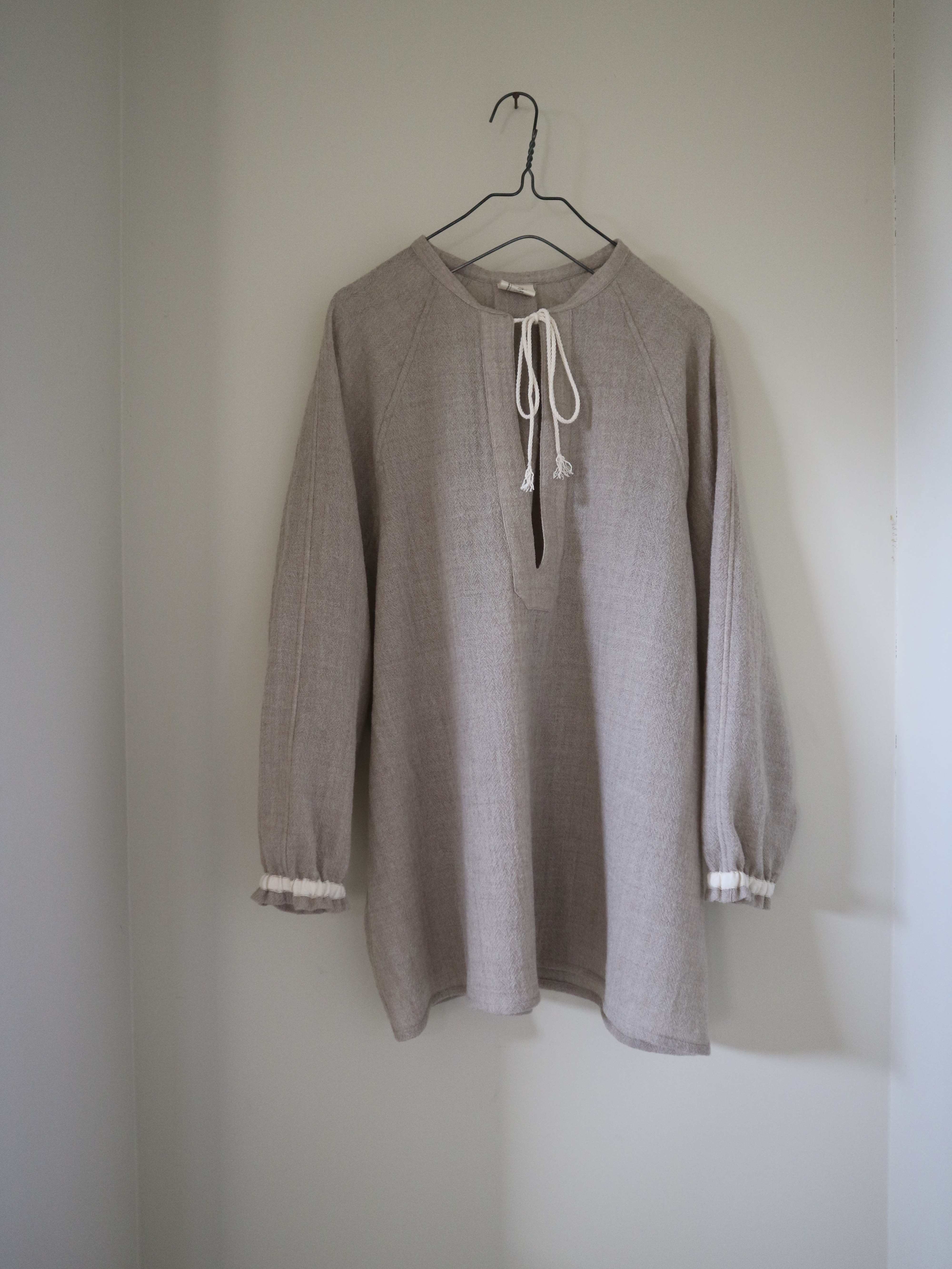 wool over blouse