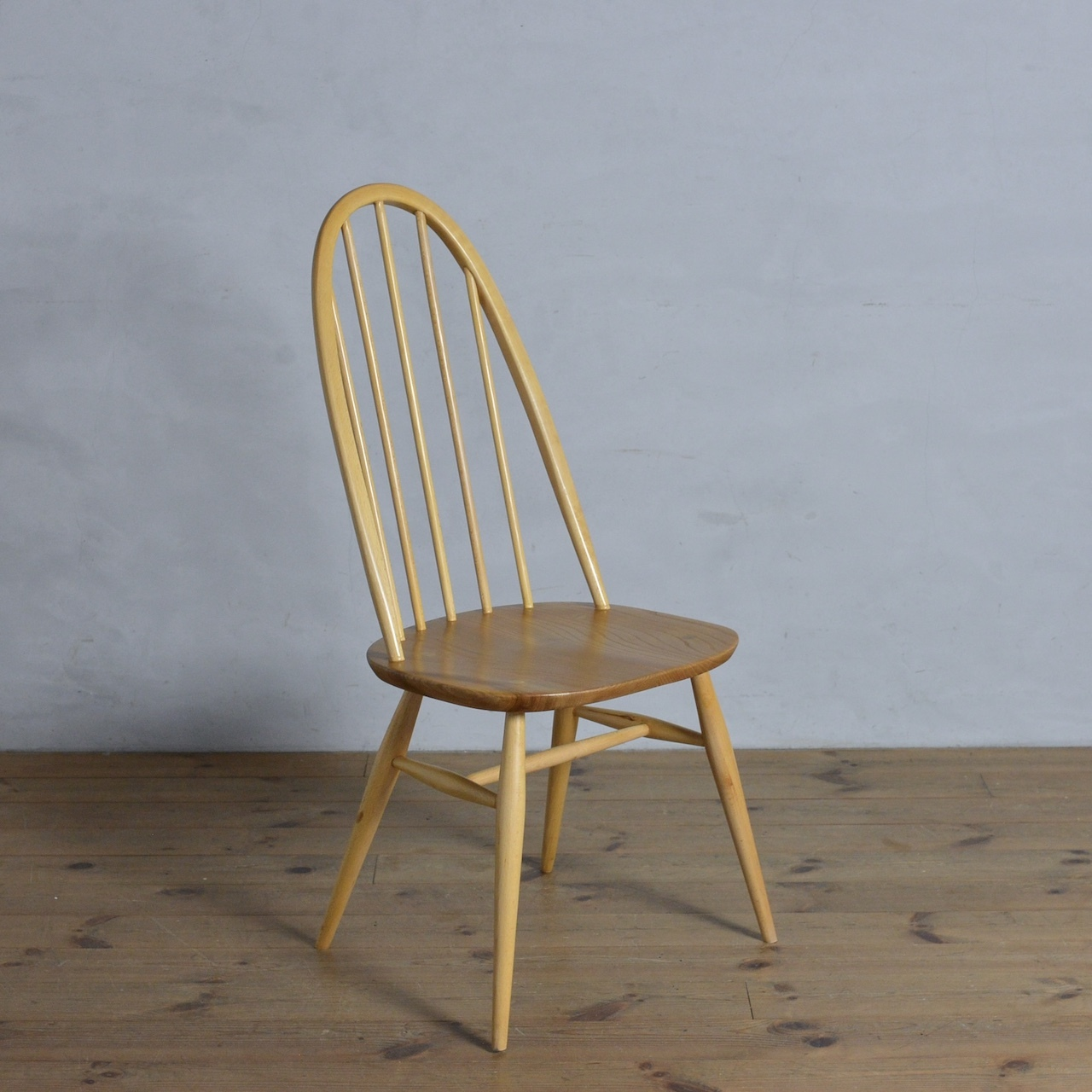 Ercol Quaker Chair / アーコール クエーカー チェア〈ダイニングチェア・ミッドセンチュリー・北欧〉112171
