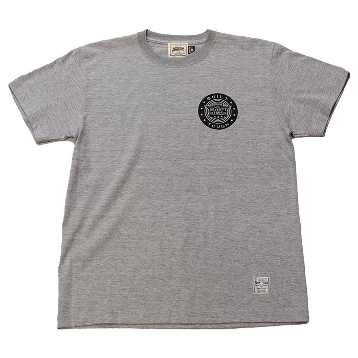 SEVENTY FOUR(セブンティーフォー) / B.T.CLASSIC LOGO T-SHIRT(GRAY)(STF21SS13)(Tシャツ)