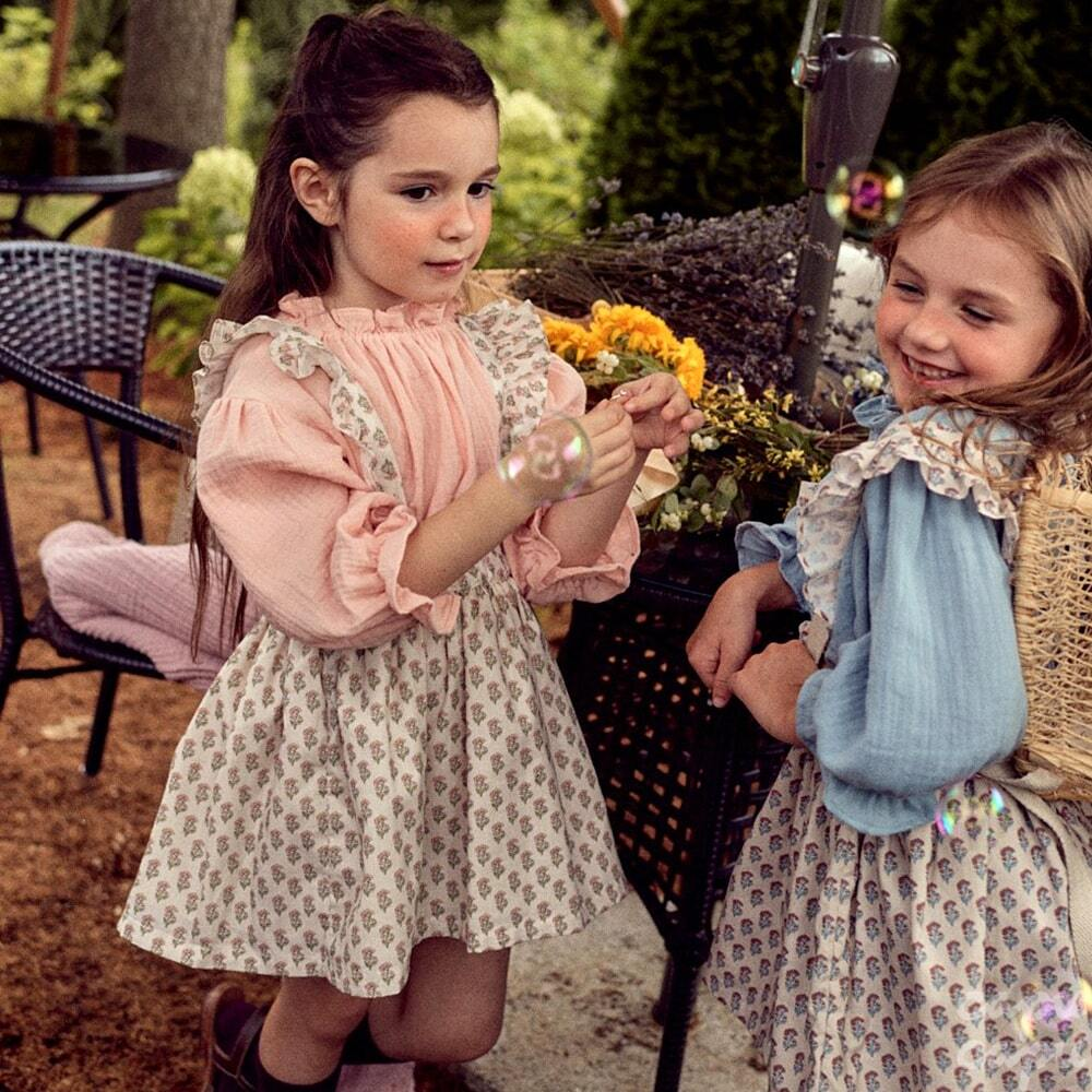 «sold out»«pour enfant» プリンブラウス Pulin blouse