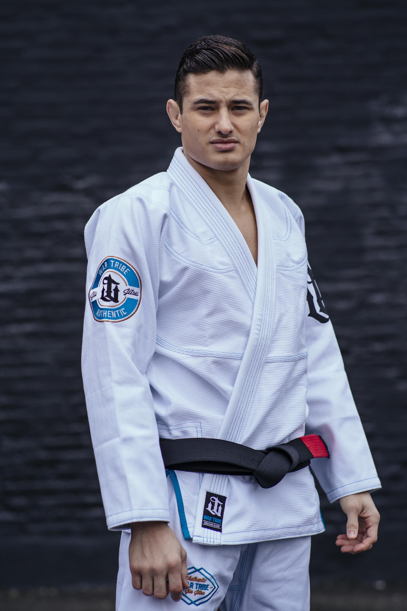 WAR TRIBE GEAR LEGACY 柔術衣 ホワイト ブラジリアン柔術衣(柔術着)