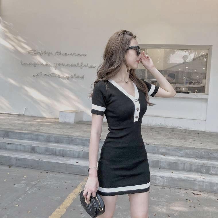 line color dress