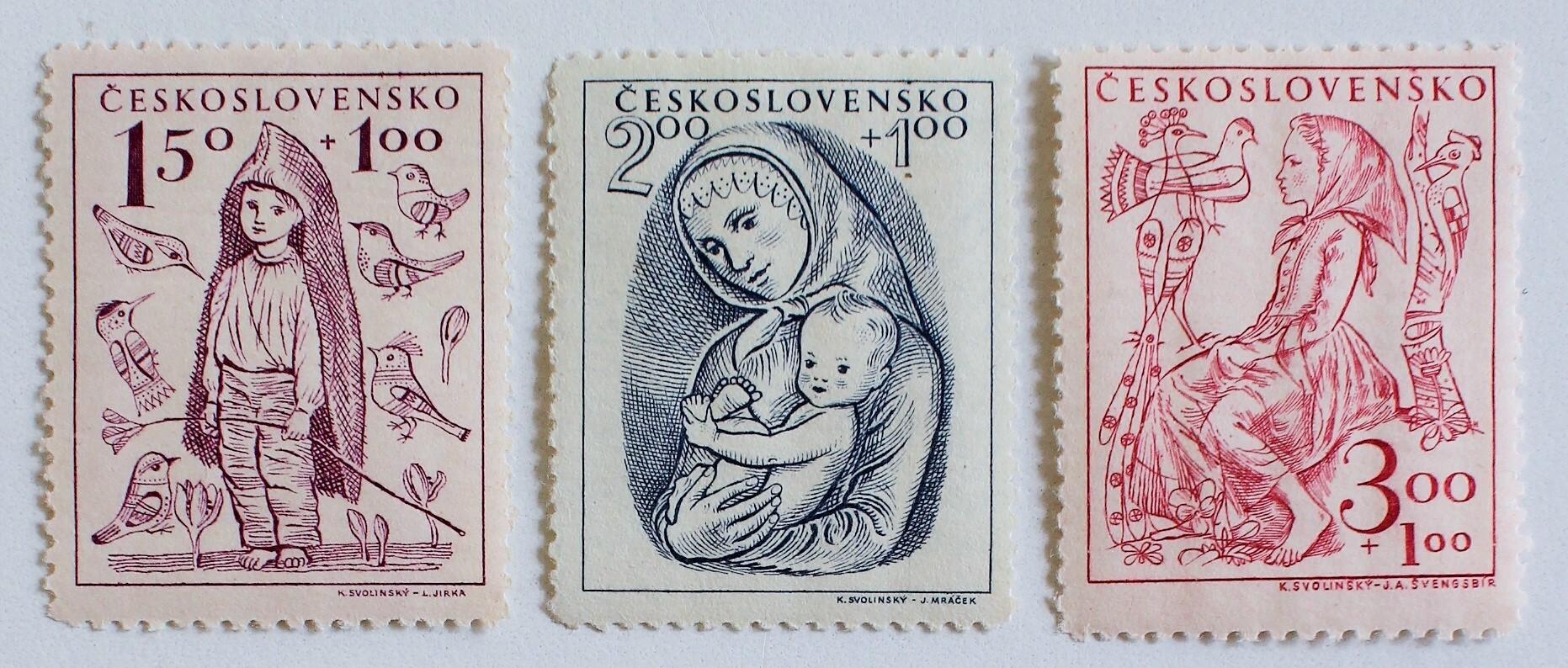 児童福祉 / チェコスロバキア 1948