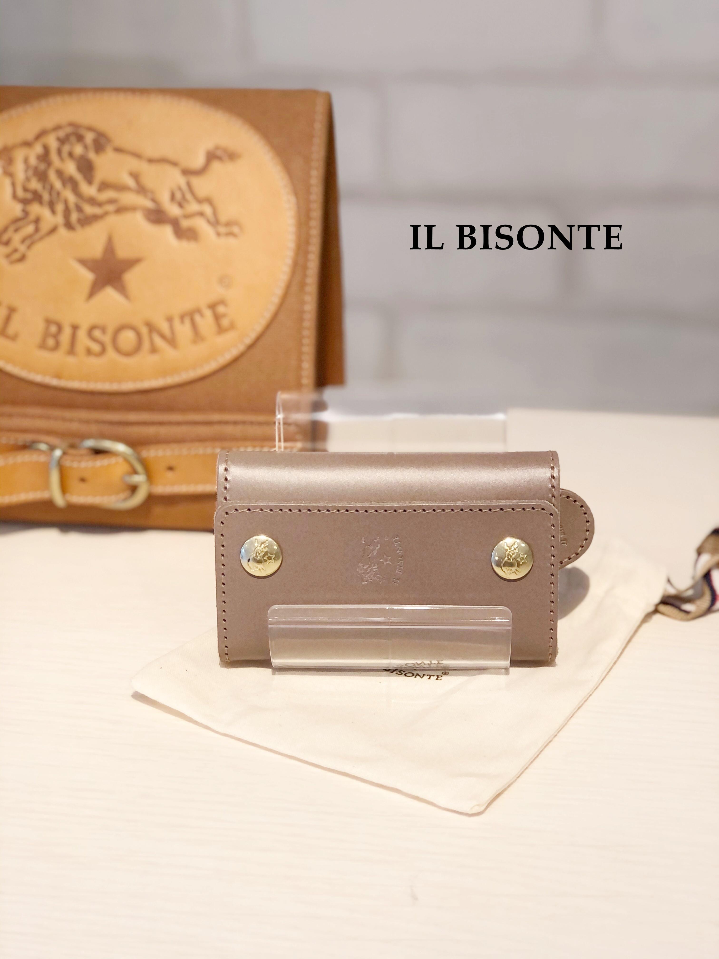 IL BISONTE(イルビゾンテ)/6連キーケース/9290(グレー)
