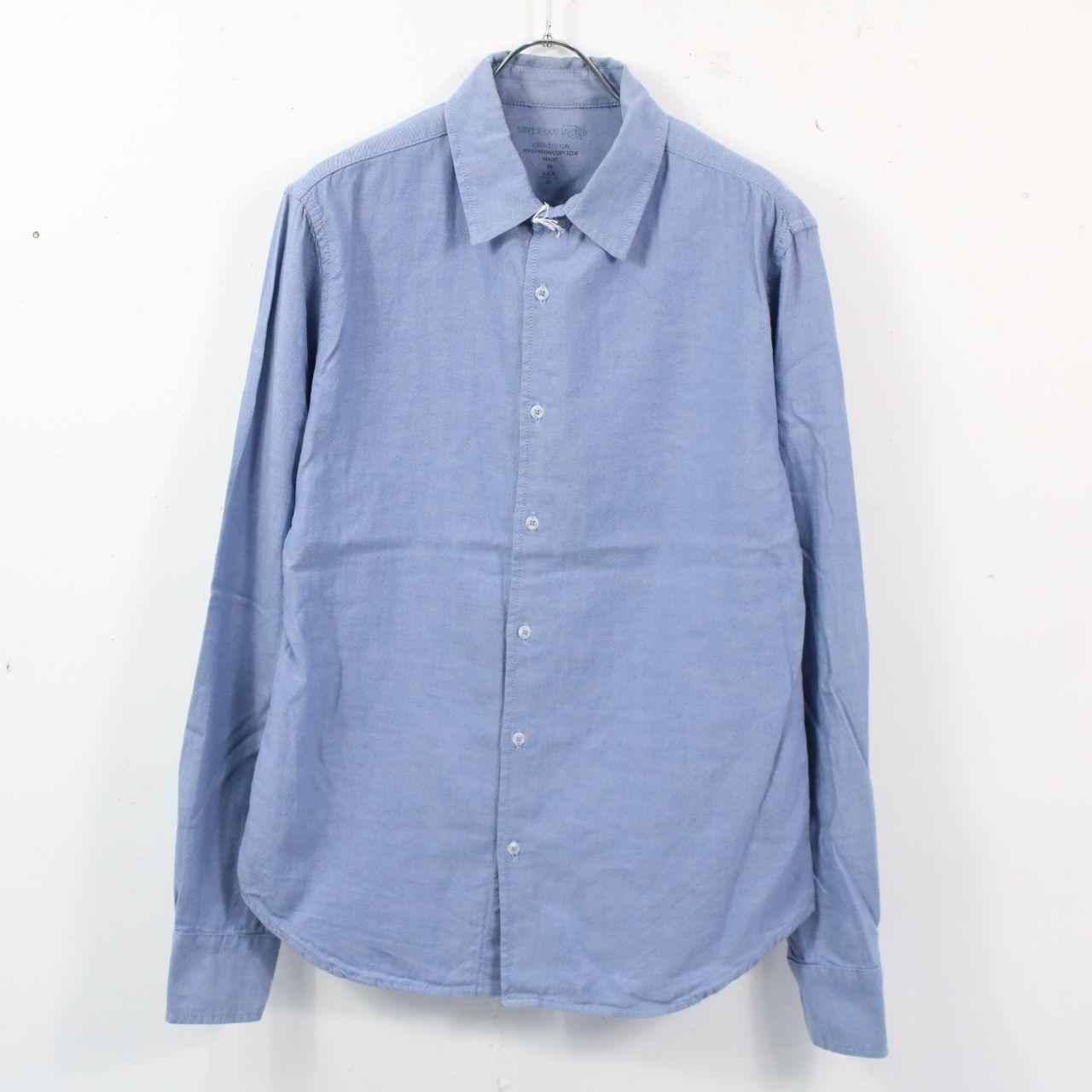 SAVE KHAKI UNITED / セーブカーキユナイテッド   オックスフォードシャツ   XS   ブルー