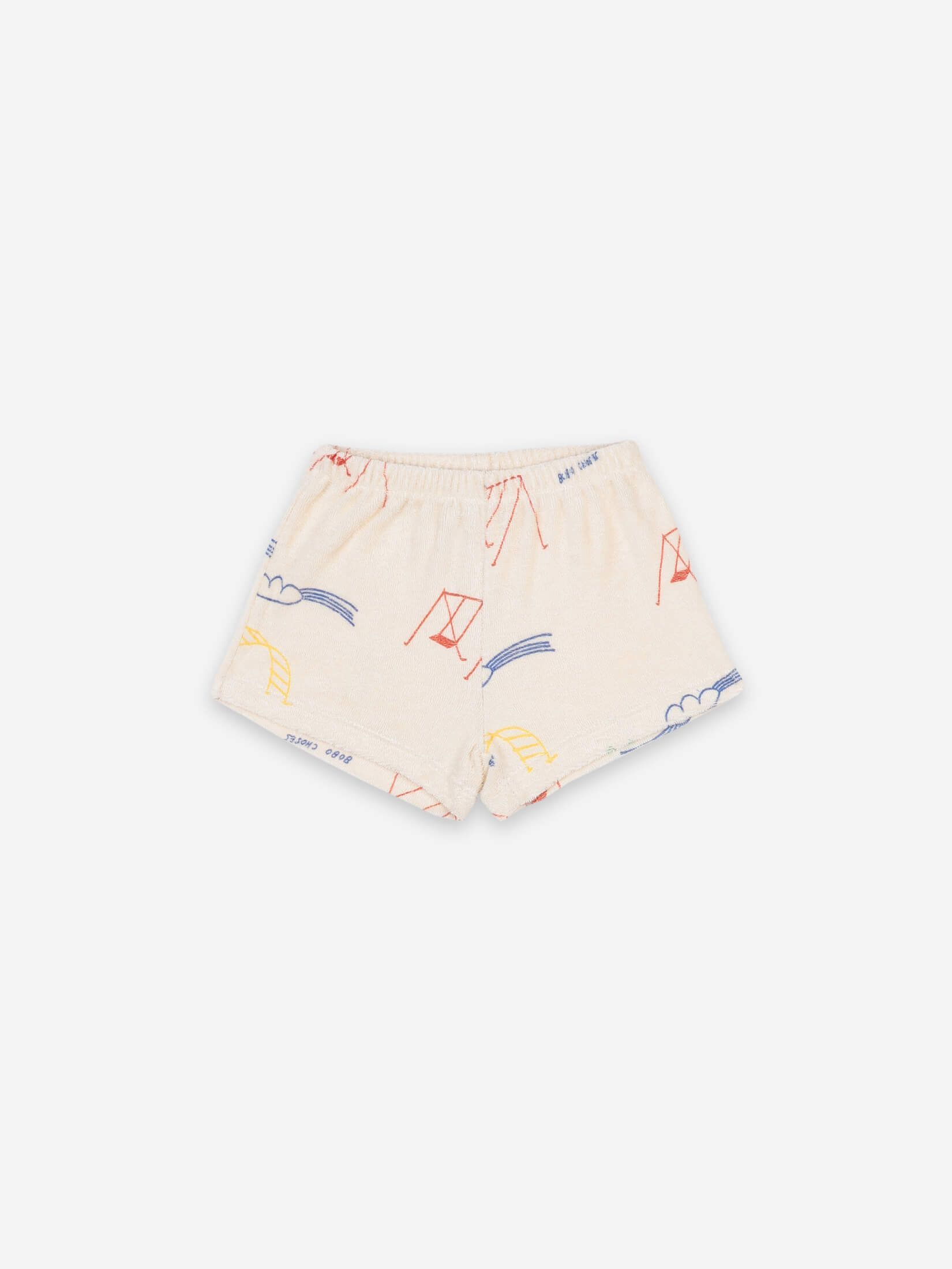 BOBO CHOSES ボボショセス Playground All Over Terry Fleece Shorts size:12-18M(80-90)・18-24M(90-95)