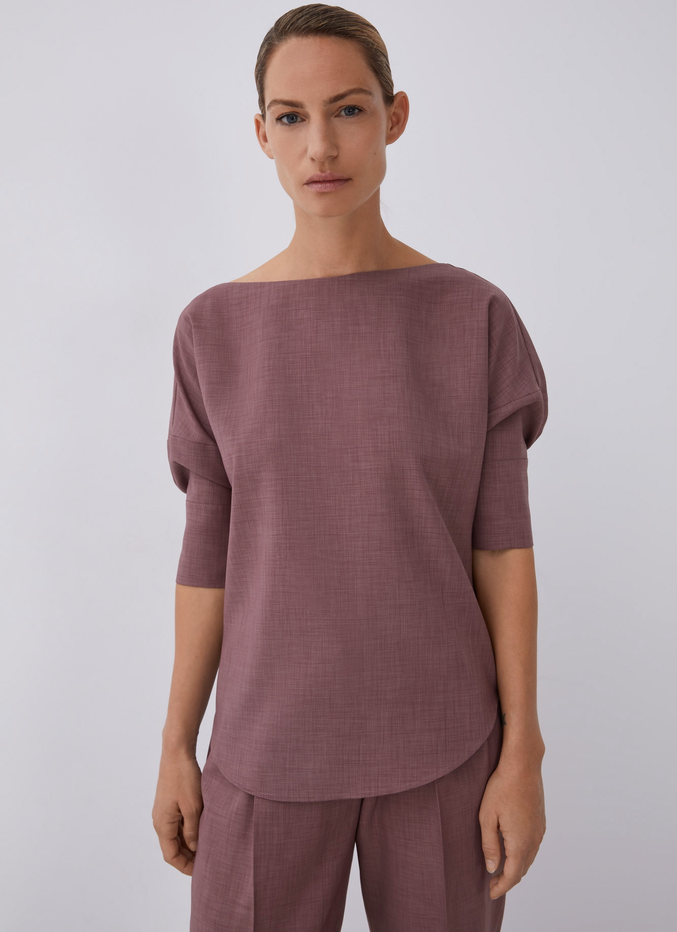 SHIRT WITH ELBOW SLEEVE