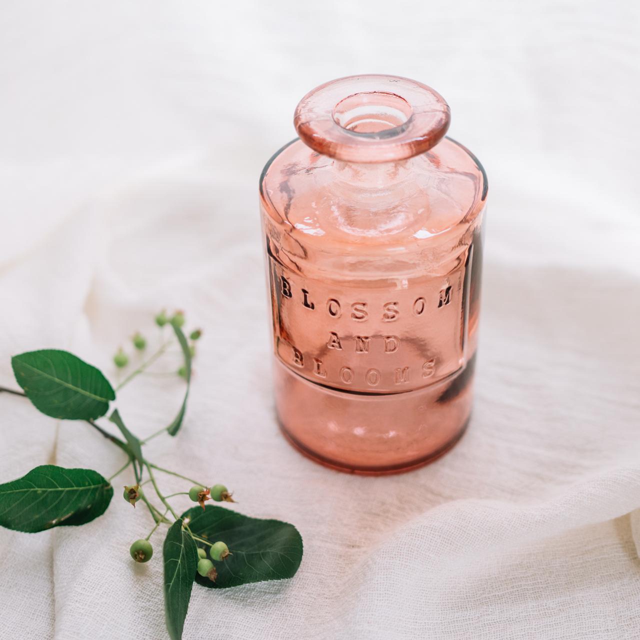 スペイン製リサイクルカラーボトル カシス|花器
