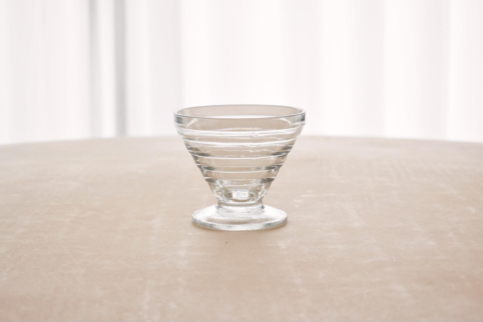 Riihimaen Lasi dessert glass(Aino Aalto)