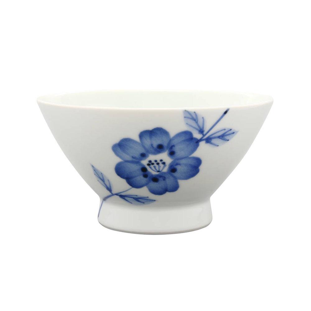 浜陶 波佐見焼 和山窯 flowers くらわんか碗 ラインフラワー 385810