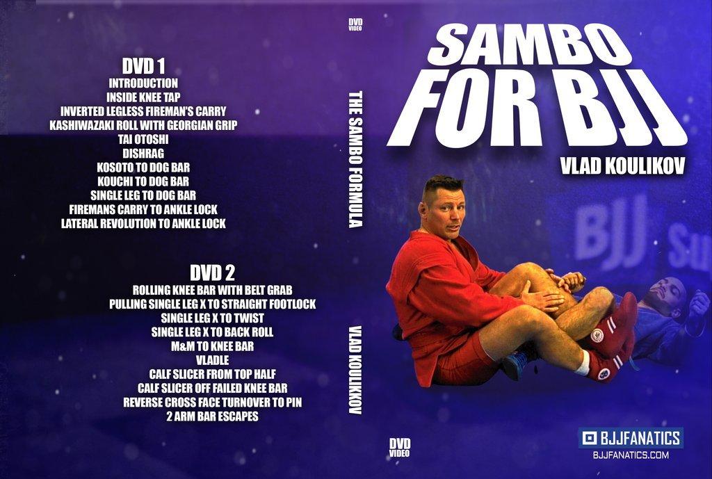 ブラジリアン柔術の為のサンボ ウラジスラフ・クリコフ 2枚組DVD
