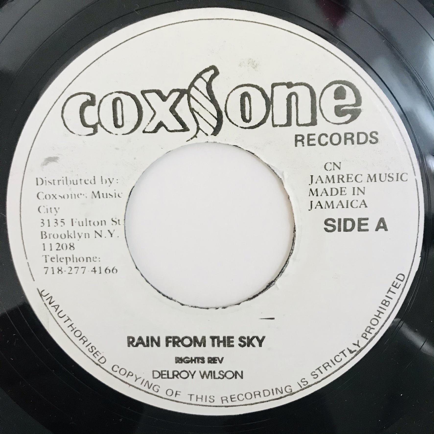 Delroy Wilson - Rain From The Sky【7-10998】