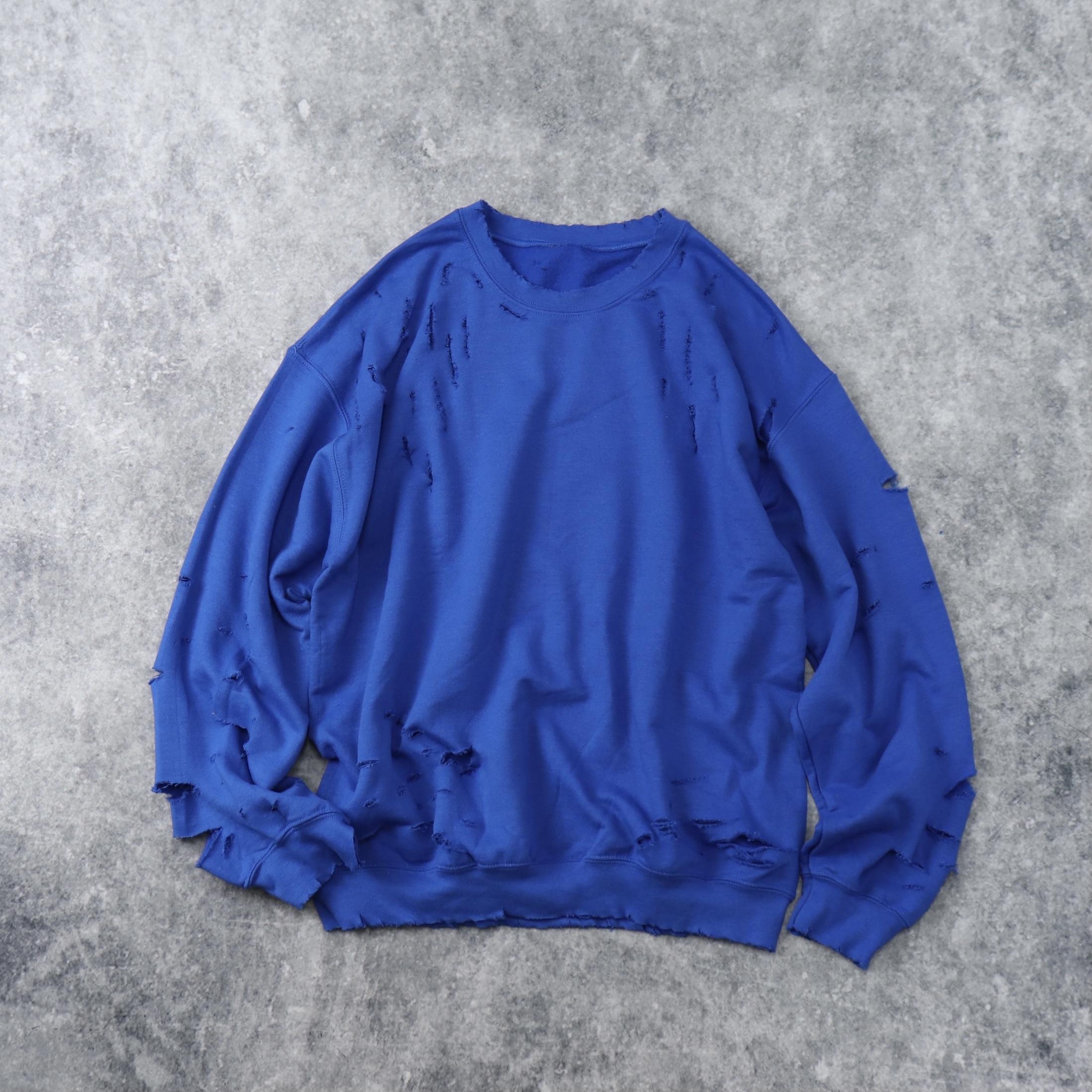 """"""" BORO """"   Sweat  Shirt   BLUE"""