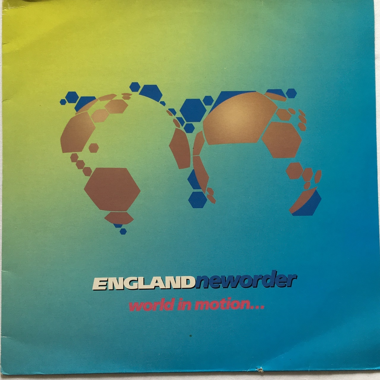 【12inch・英盤】New Order / World In Mortion