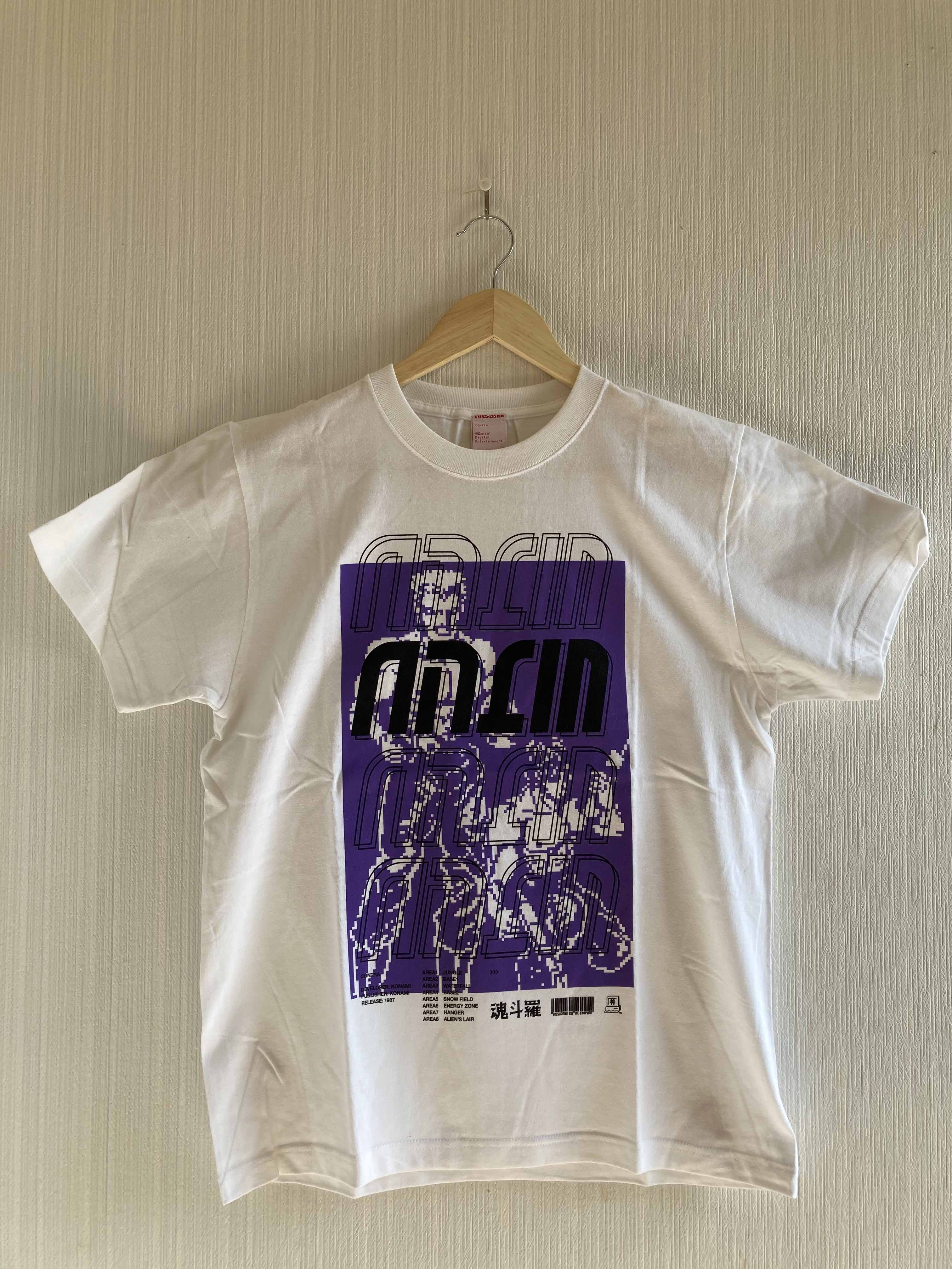 魂斗羅 Tシャツ / VIDEO GAME TOKYO