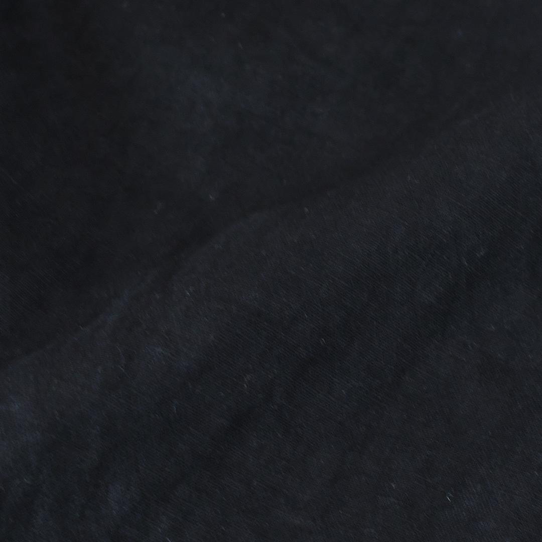 Gauze# ガーゼ G597 ストリングワイドキュロット・フェイドブラック