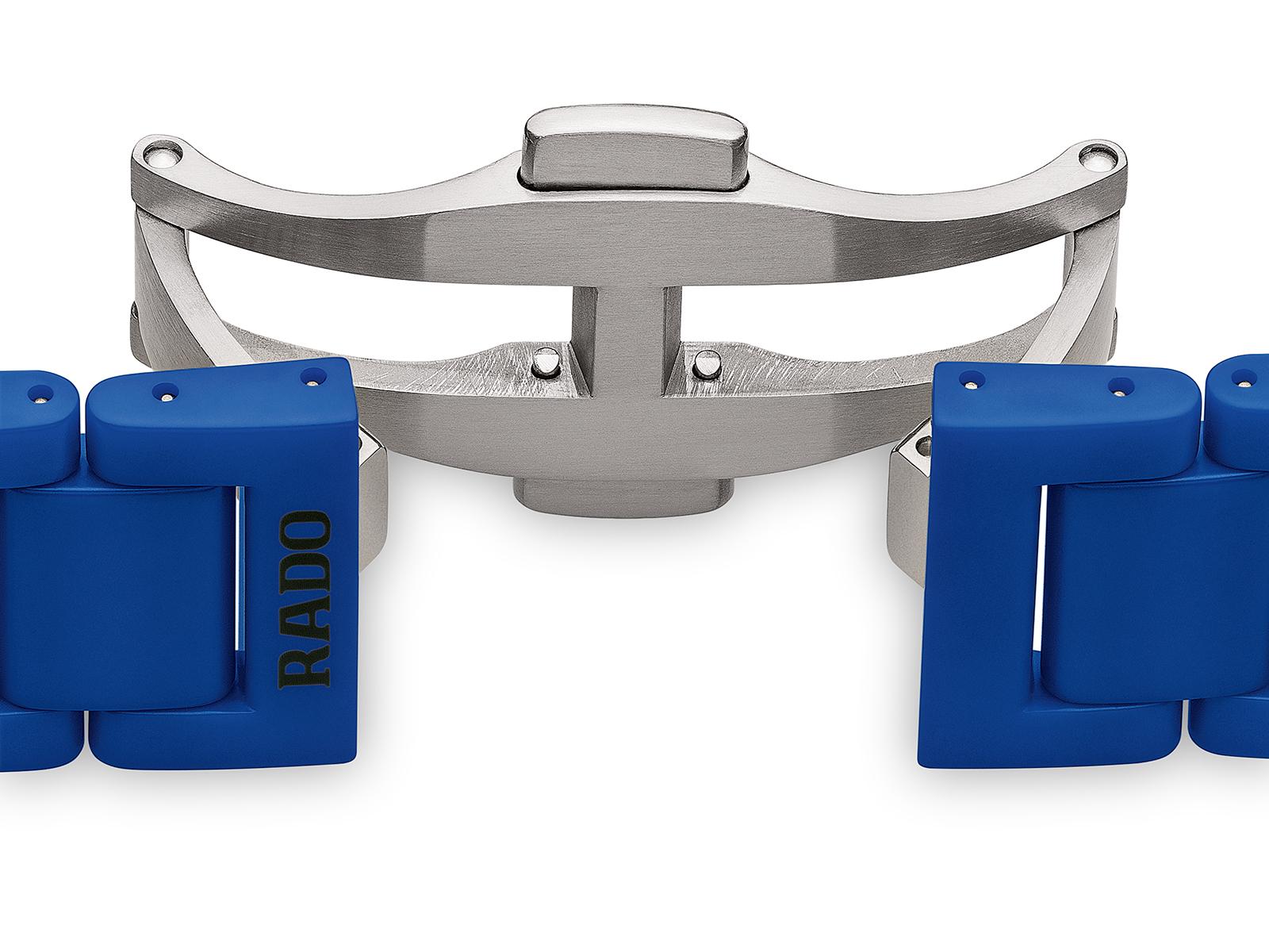 【RADO ラドー】True Thinline Les Couleurs™ Le Corbusier  Spectacula ultramarine 4320K シンライン ル・コルビュジエ(ブルー)/国内正規品 腕時計