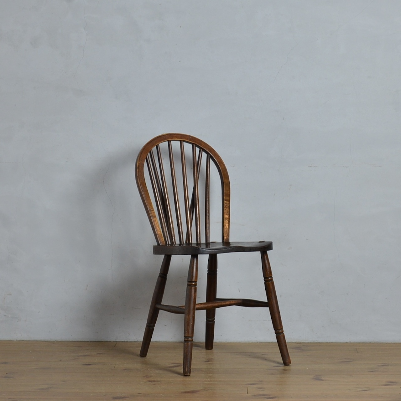 Kitchen Chair  / キッチン チェア【F】〈ダイニングチェア・ウィンザーチェア・アンティーク・ヴィンテージ〉112320