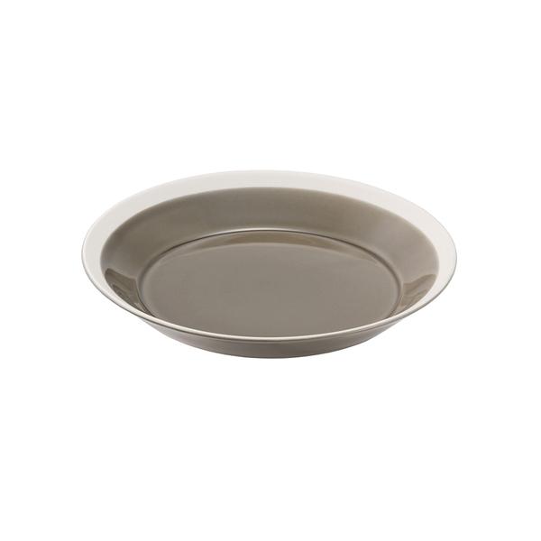 yumiko iihoshi porcelain Dishes プレート180 fawn brown