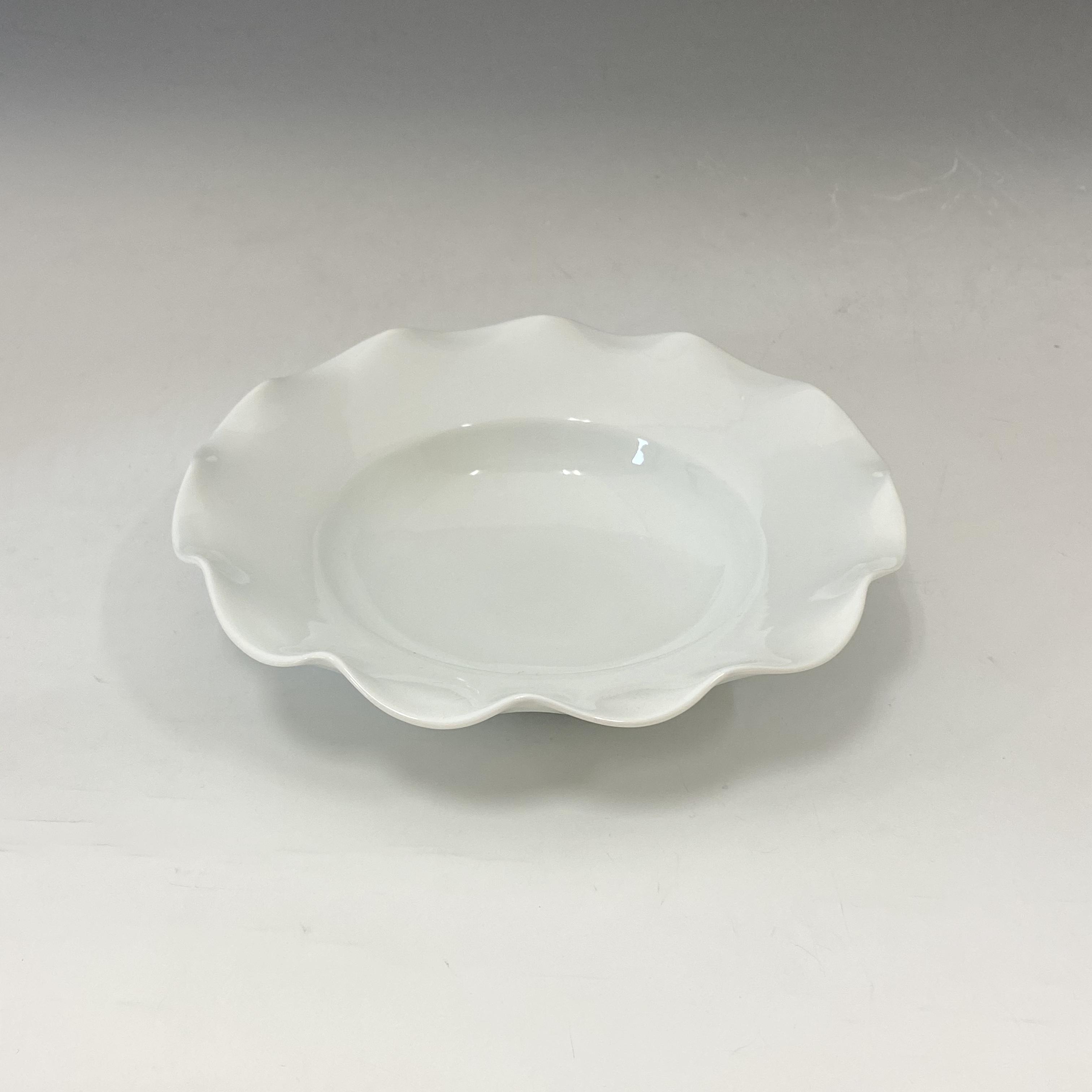 【中尾恭純】白磁ビラ鉢