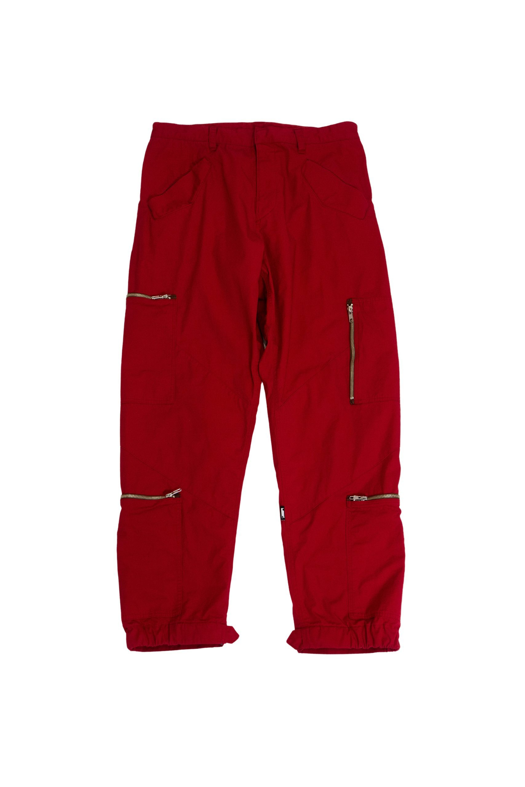 PHINGERIN PLOWING PANTS POCKETS LOW RED
